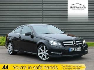 2012 62 MERCEDES BENZ C CLASS 2.1 C250 CDI BLUEEFFICIENCY AMG SPORT 2D AUTO 204