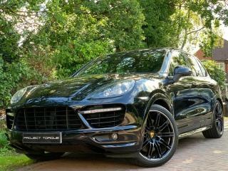 2012 62 Porsche Cayenne 4.8 Turbo Tiptronic S BLACK | PX GTS X5M ML63 AMG