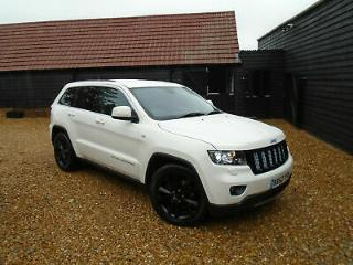 2012 62 Reg Jeep Grand Cherokee 3.0 V6 CRD S Limited