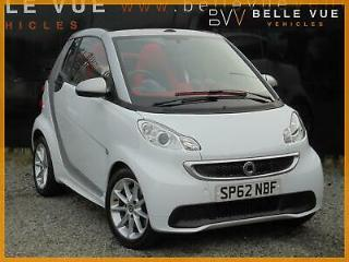 2012 62 Smart ForTwo 1.0 MHD Softouch Passion Cabriolet