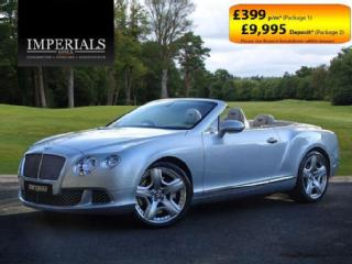 2012 Bentley Continental Gtc 6.0 W12 MULLINER CABRIOLET 2013 MODEL AUTO