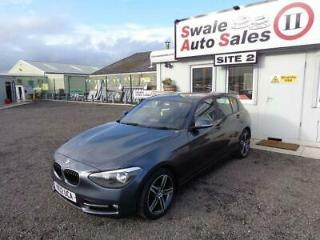 2012 BMW 1 SERIES 118D SPORT 2.0L FANTASTIC FUEL ECONOMY £30 ROAD TAX
