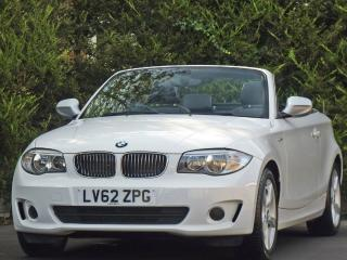 BMW 1 Series 118d 118d EXCLUSIVE EDITION CONVERTIBLE Convertible 2012, 28000 miles, £10995