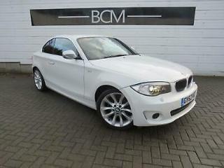 2012 BMW 1 Series 2.0 118d Exclusive Edition 2dr Diesel white Manual