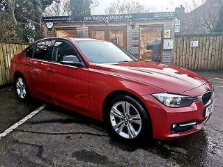 2012 BMW 320 2.0TD 184bhp S/S D SPORT IN RED
