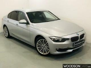 2012 BMW 320d Luxury Saloon Diesel in Silver with NEW TIMING CHAIN