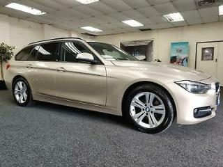 2012 BMW 3 SERIES 320D SPORT TOURING + LEATHER + NAVIGATION + ESTATE DIESEL