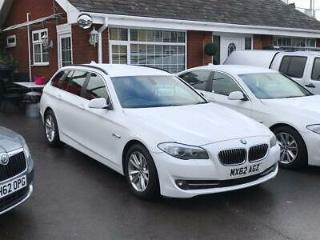 2012 62 BMW 530D SE TOURING AUTO WHITE 3.0 DIESEL ESTATE 1 OWNER FSH EX POLICE