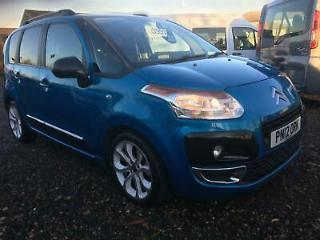 2012 Citroen C3 Picasso 1.6HDi 8v 90bhp Low Miles F/S/H Met Blue