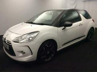 2012 Citroen DS3 1.6 e HDi Airdream DStyle Plus 3dr Diesel white Manual