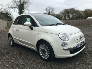 2012 FIAT 500 LOUNGE £0 TAX FIAT SERVICE HISTORY 1 OWNER 31K PX WELCOME