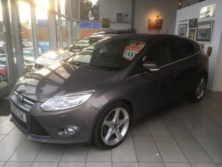 2012 Ford Focus 1.6 eco boost Titanium X 180bhp Self Parking