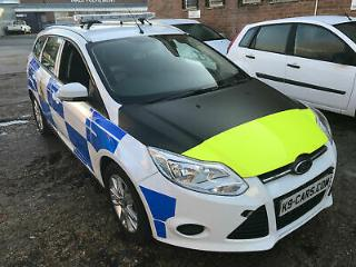 2012 Ford Focus 1.6TDCi £20 Tax EX POLICE DOG UNIT K9 VAN CAR 2 KENNELS SECURITY