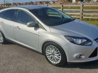 2012 FORD FOCUS ZETEC TDCI FULL MOT 7x SERVICE STAMPS ANY PX WELCOME