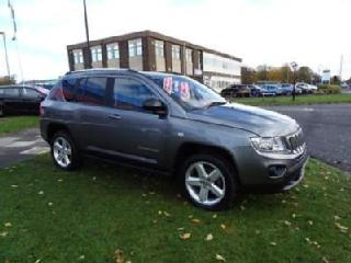 2012 Jeep Compass 2.2 CRD Limited 4WD 5dr