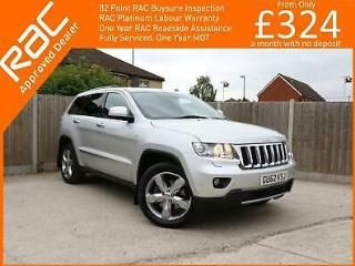 2012 Jeep Grand Cherokee 3.0 CRD Turbo Diesel Overland Auto 4x4 4WD Pan Roof Sat