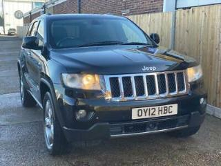 2012 Jeep Grand Cherokee 3.0 CRD V6 Overland 4x4 5dr
