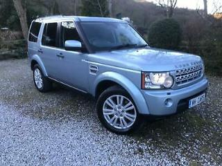 2012 Land Rover Discovery 4 3.0SDV6 255bhp 4X4 Auto XS