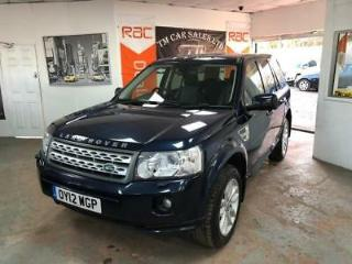 2012 Land Rover Freelander 2 2.2 SD4 XS Station Wagon 5dr