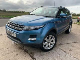 2012 Land Rover Range Rover Evoque 2.2 SD4 Pure AWD 5dr