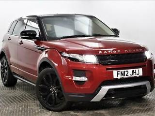 2012 Land Rover Range Rover Evoque SD4 DYNAMIC LUX Diesel red Automatic