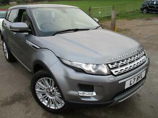 2012 LAND ROVER RANGE ROVER EVOQUE SD4 PRESTIGE LUX LEATHER AND PANORAMIC ROOF