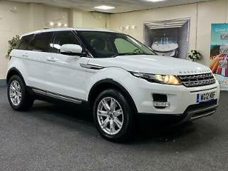 2012 LAND ROVER RANGE ROVER EVOQUE SD4 PURE TECH + AUTOMATIC + AWD + PANORAMIC