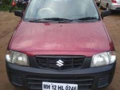 Red 2012 Maruti Suzuki Alto LXi CNG 73000 kms driven in Wakad