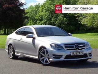 2012 Mercedes Benz C Class C220 CDI BlueEFFICIENCY AMG Sport 2dr Auto 2 door