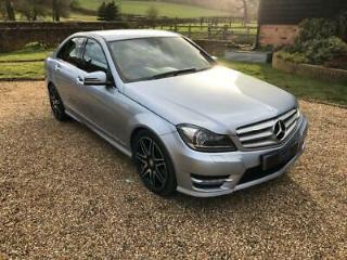 2012 Mercedes Benz C Class C220 CDI BlueEFFICIENCY AMG Sport Plus 4dr Auto 4