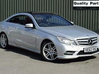 2012 Mercedes Benz E Class 3.0 E350 CDI BlueEFFICIENCY Sport G Tronic 2dr