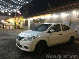 White 2012 Nissan Sunny XE 27,000 kms driven in Vypin