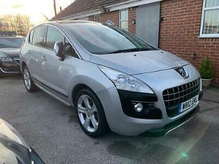 2012 Peugeot 3008 Crossover 1.6HDi Allure, Service History