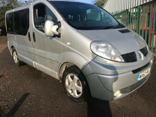 2012 Renault Trafic Sport Auto, Wheelchair Access Vehicle Disabled WAV, 5 SEATS