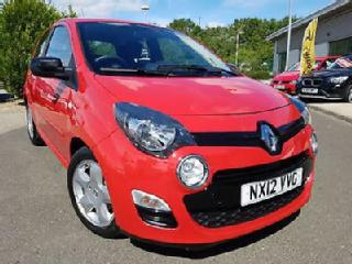 2012 Renault Twingo 1.2 16v 75bhp Dynamique in red