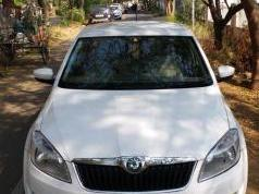 White 2012 Skoda Rapid 1.5 TDI CR Ambition AT 83,300 kms driven in Uppilipalayam