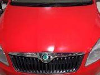 Red 2012 Skoda Rapid 65,000 kms driven in Thandalam