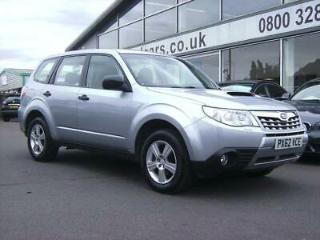 2012 Subaru Forester 2.0D X 5dr 5 door Estate