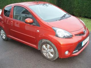 2012 TOYOTA AYGO 1.0 VVT I FIRE 3 DOOR ORANGE DAMAGE REPAIRABLE SALVAGE