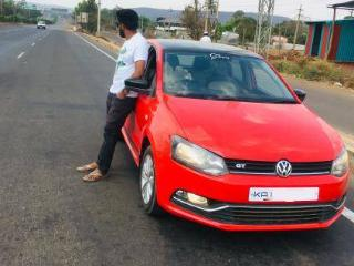 Red 2012 Volkswagen Polo Select Variant 1,20,000 kms driven in 80 Ft. Road