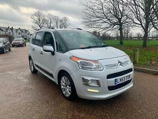 2013/13 Citroen C3 Picasso 1.6HDI 90bhp Exclusive 1 F KEEPER LOW MILEAGE