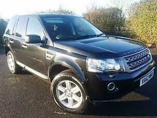 2013/62 Land Rover Freelander 2 2.2Td4 4X4 GS With Leather Interior