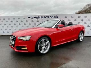 2013 13 AUDI A5 CABRIOLET 1.8 TFSI S LINE SPECIAL EDITION 170 BHP LEATHER
