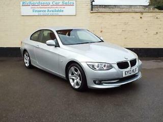 2013 13 BMW 320 2.0TD Auto SE 2dr Coupe, up to 64mpg!