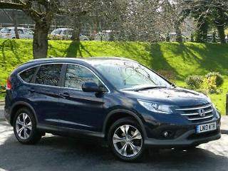 2013 13 HONDA CR V 2.2i DTEC EXECUTIVE 4X4 WITH SAT/NAV+LEATHER+PANORAMIC ROOF