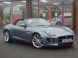 2013 13 JAGUAR F TYPE 3.0 SUPERCHARGED V6 S 2DR AUTO CONVERTIBLE