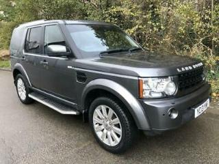 2013 13 LAND ROVER DISCOVERY 4 SDV6 XS DIESEL