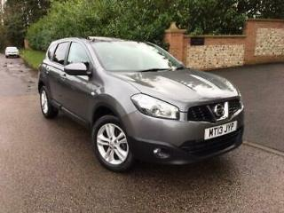 2013 13 NISSAN QASHQAI+2 1.5 DCI ACENTA PLUS 2 5D 110 BHP PLEASE CALL TO VIEW DI