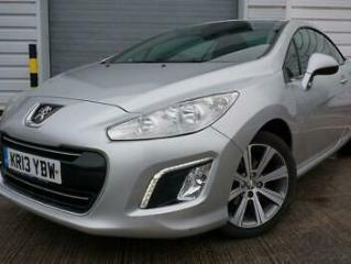 2013 13 PEUGEOT 308 1.6 E HDI CC ACTIVE NAVIGATION VERSION 2D 2 OWNERS BLUETOOTH