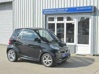 2013 '13' REG SMART FORTWO 1.0 mhd 71bhp Softouch Edition 21 FREE ROAD TAX !